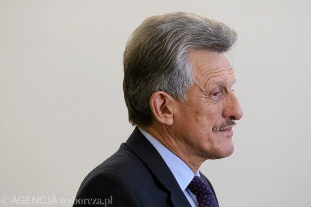 Stanisław Piotrowicz, poseł PiS, przewodniczący sejmowej komisji sprawiedliwości