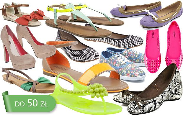 Hit cenowy: buty do 50 z� - ponad 190 propozycji!