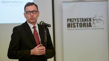 Jarosław Szarek krytykował ustawę o IPN