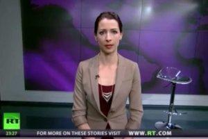 """Bunt prezenterki: """"Pracuj� tu, w Russia Today, ale uwa�am, �e to, co robi Rosja, jest z�e"""""""