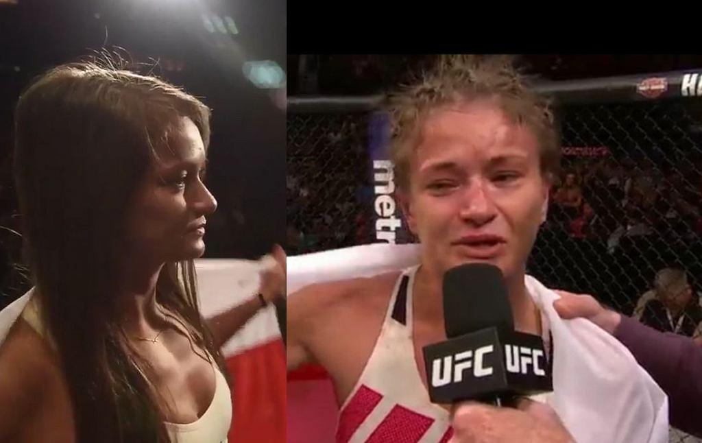 Karolina Kowalkiewicz przed i po walce