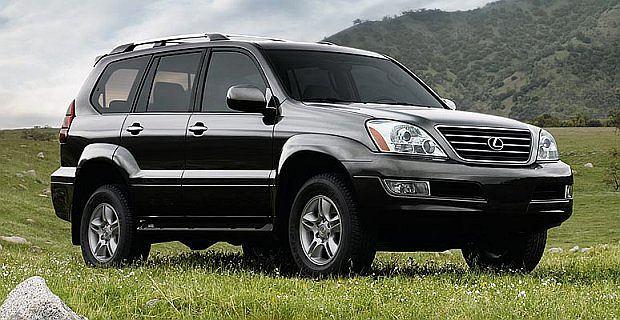 Luksusowe wersje Land Cruisera sprzedawane są pod marką Lexus