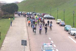 Start rowerowej wyprawy ze Szczecina do Malmö