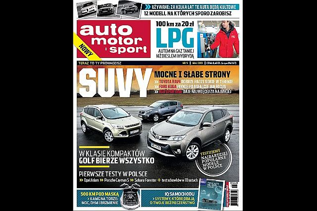 Auto Motor i Sport (maj 2013)
