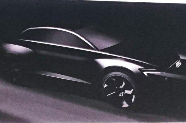 Audi Q6 | Pierwszy szkic elektrycznego SUV-a