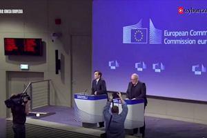 Konferencja prasowa Fransa Timmermansa po decyzji KE o wszczęciu postępowania z artykułu 7 traktatu o UE