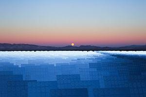 Największa taka elektrownia słoneczna na świecie, na tym zdjęciu wygląda jak obiekt z innej planety