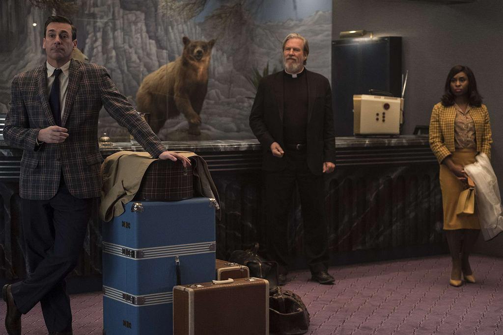 Jon Hamm, Jeff Bridges i Cynthia Erivo w 'Źle się dzieje w El Royale' / Imperial - Cinepix