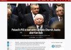 """""""Politico"""" o sporze aborcyjnym w Polsce: PiS """"w ��ku"""" z Ko�cio�em katolickim"""