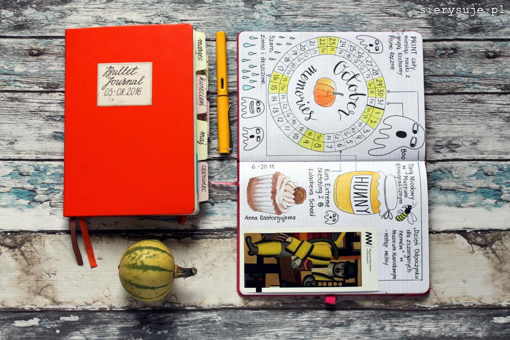 Bullet Journal / sierysuje.pl