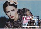 Justyna Steczkowska w Valentino i Louis Vuitton - luksusowa sesja w Viva!