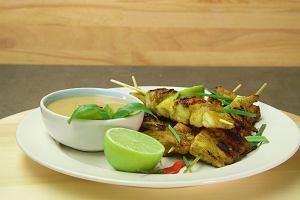 Azjatycki szaszłyk - kurczak Satay