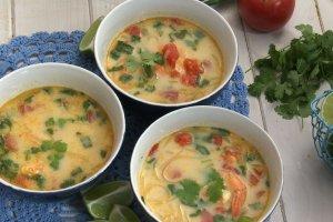 B�yskawiczna zupa tajska w 7 minut