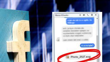 Nowy wirus atakuje przez Facebooka