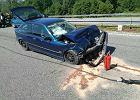 Poważny wypadek na A1 w kierunku Gdańska. Korek na 10 kilometrów