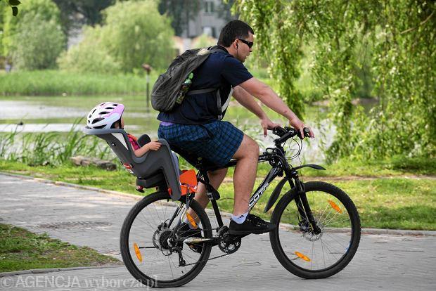 Poznański Rower Miejski Rowery Z Fotelikami Dla Dzieci