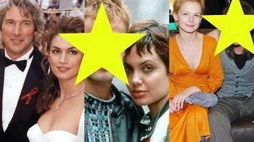 Richard Gere i Cindy Crawford, Jonny Lee Miller i Angelina Jolie, Dominika Ostałowska i Hubert Zduniak