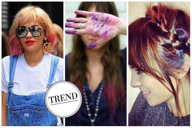 Hair Chalk: W jaki sposób stosować kolorowe kredy do włosów?