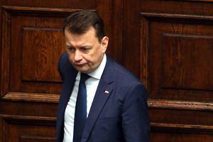 """Żandarmeria Wojskowa wyszła na ulice """" w związku z wydarzeniami w Warszawie""""? Błaszczak: Nie. To z powodu zamachu"""