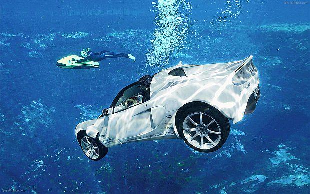 Może nurkować do 10 metrów głębokości