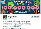 100 milionów Angry Birds Space