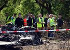 Biegli: Awaria lewego silnika przyczyną katastrofy lotniczej pod Częstochową