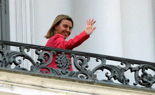 """""""Nie spodziewacie się chyba, że Irańczyk i Włoszka będę negocjować na chłodno"""". Mogherini na rozmowach w Iranie"""