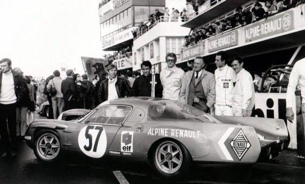 Alpine A210 w 1966 roku