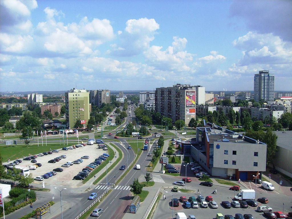 Tychy, Rondo Lwowskie / Fot. Martin52t, Wikimedia CC BY-SA 4.0