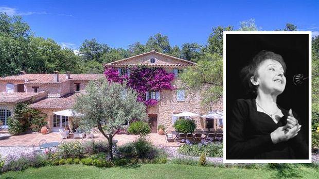 Rezydencja należąca do Édith Piaf