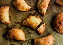 Pieczone pierogi z soczewic� i �urawin� - ugotuj