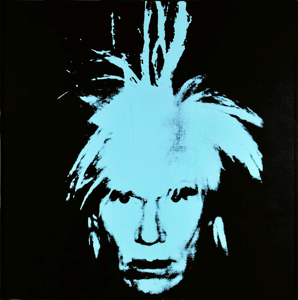 / Andy Warhol, autoportret, sitodruk, 1978
