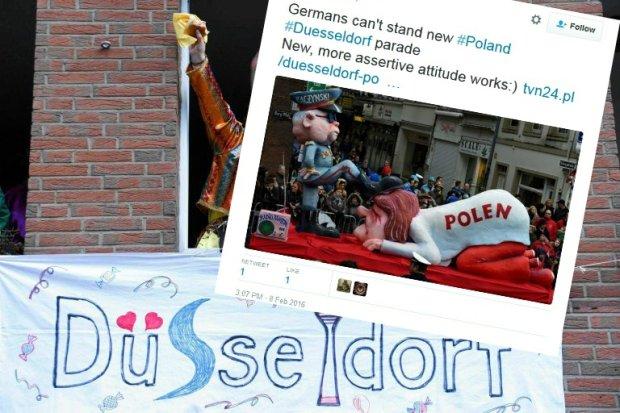 Karnawa�owa parada w Duesseldorfie