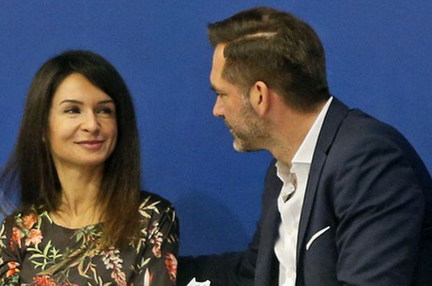 Marta Kaczyńska z partnerem