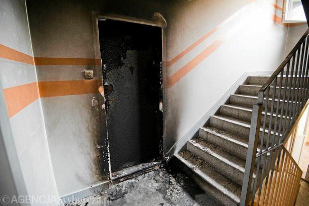 Podpalone mieszkanie na Zielonych Wzg�rzach