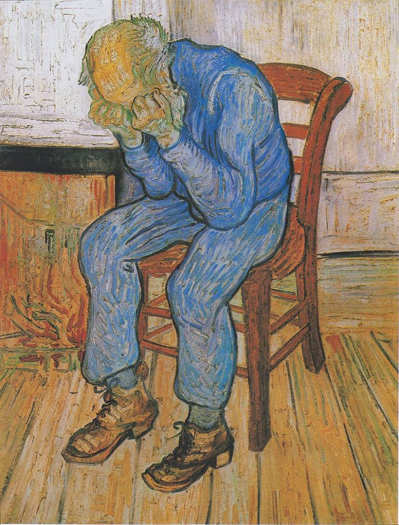 Vincent van Gogh. Stary człowiek w smutku, 1890 / Wikimedia commons