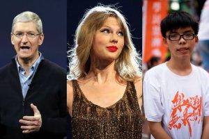 Taylor Swift, szef Apple i 18-latek z Hongkongu. Co ich łączy? Oto lista największych światowych liderów