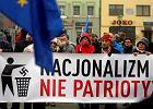 """""""Faszyzm tu nie przejdzie"""". Protest w Wodzisławiu Śląskim"""