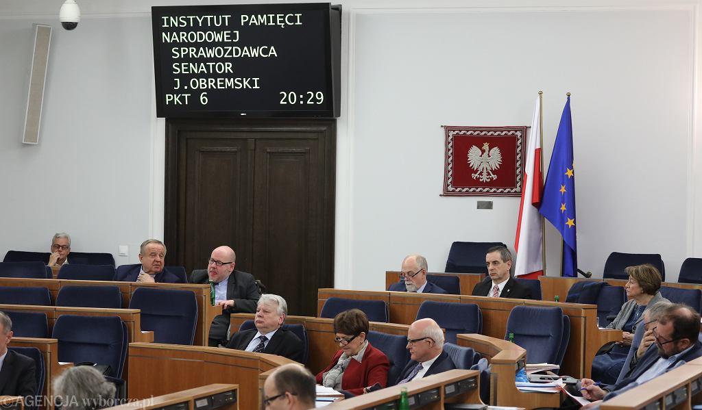 Senat: debata nad nowelizacją ustawy o IPN
