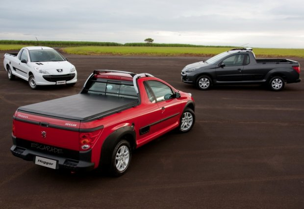 Peugeot i Citroen szykuj� pickupa