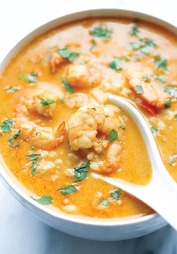 zupa w tajskim stylu