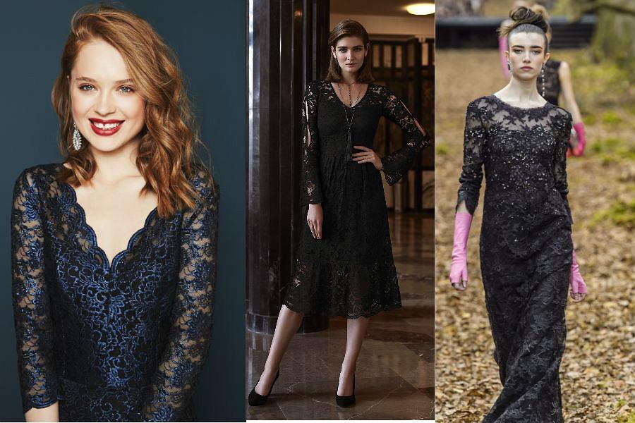 Sukienki koronkowe mają w swojej ofercie zarówno znane domu mody jak Chanel, jak i popularne marki odzieżowe - Orsay czy Taranko