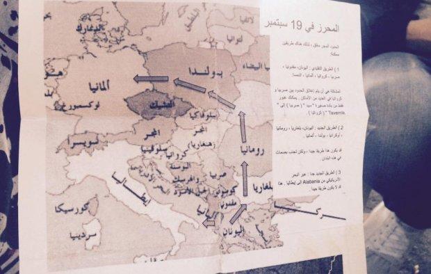 z18906148Q,Ulotka-dla-uchodzcow-z-mapa--