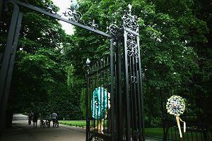 Zwłoki mężczyzny w parku Oliwskim