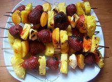 Owocowe szaszłyki z grilla - ugotuj