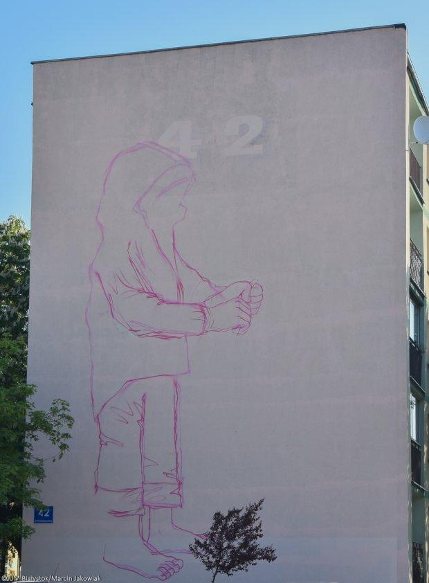 Nowy mural do dziewczynki z konewk do czy ch opczyk z for Mural dziewczynka z konewka