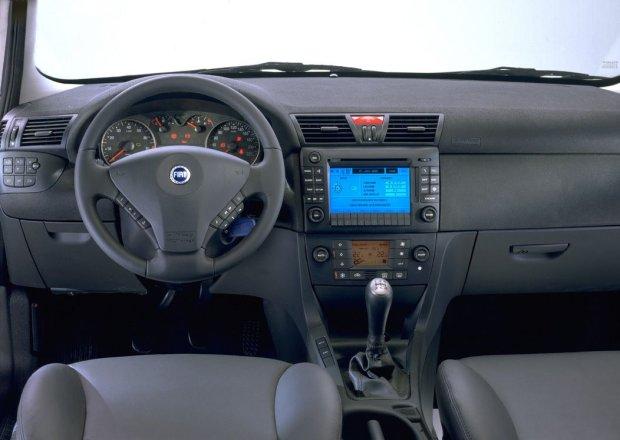Fiat Stilo - wnętrze