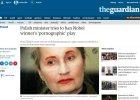 """""""Guardian"""" pisze o awanturze wok� spektaklu """"�mier� i dziewczyna"""": """"Strach przed cenzur�"""""""