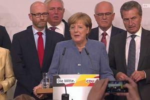 """""""Liczyliśmy na lepszy wynik"""". Partia Merkel wygrała niemieckie wybory parlamentarne"""