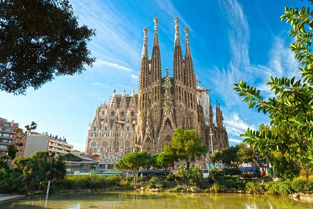 Barcelona Hiszpania - Sagrada Familia, Antoni Gaudi